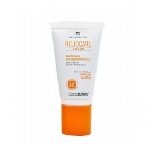 Heliocare SPF 50 Gel-Cream Color Light, 50 ml. - Cantabria Labs