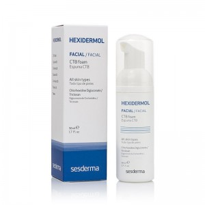 HEXIDERMOL Espuma CTB, 50 ml. - Sesderma