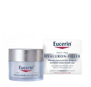 Hyaluron Filler Crema de Día para piel seca, 50 ml. - Eucerin