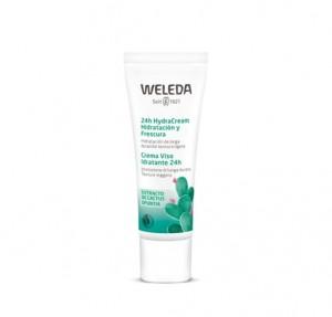 HydraCream 24h Hidratación y Frescura, 30 ml. - Weleda
