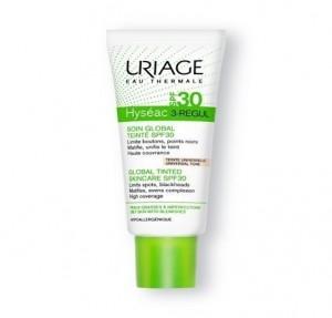 Hyséac 3 Regul con Color SPF 30+, 40 ml. - Uriage