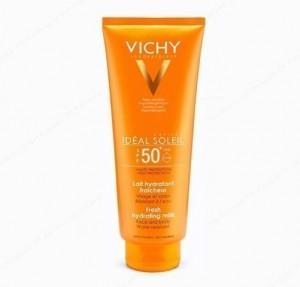 Idéal Soleil Leche Hidratante SPF 50+, 300 ml. - Vichy