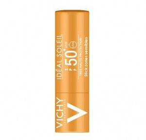 Idéal Soleil Stick Zonas Sensibles SPF 50+, 9 gr. - Vichy
