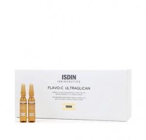 Isdinceutics Flavo-C Ultraglican, 30 Ampollas x 2 ml. - Isdin
