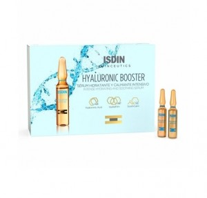 Isdinceutics Hyaluronic Booster Sérum Hidratante, 10 Ampollas x 2 ml. - Isdin