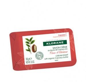 Jabón Crema Fleur d´Hibiscus, 100 ml. - Klorane