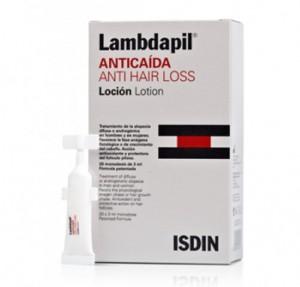 Lambdapil Anticaída Loción, 20 monodosis. - Isdin