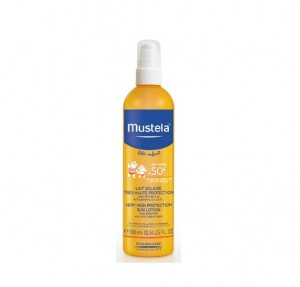 Leche Solar Muy Alta Protección SPF 50+, 200 ml. - Mustela