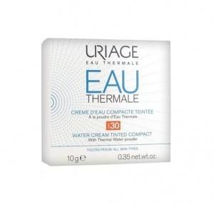 Crema de Agua Compacta Color SPF 30, 10 g. - Uriage