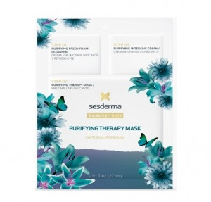 Mascarilla Facial Natural Purifying Therapy Mask, 27 ml. - Sesderma