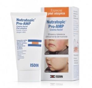 Nutratopic Pro-AMP Crema Facial Piel Atópica, 50 ml. - Isdin