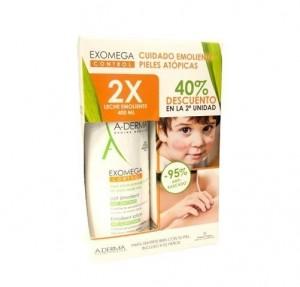 Pack Exomega Control Leche Emoliente 400 ml. + 400 ml. - A-Derma