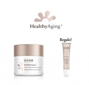Pack Healthy Aging+ Multi Acción Crema Nutritiva, 50 ml + Multi Corrector Tensor de Ojos y Labios, 15 ml. - BABE