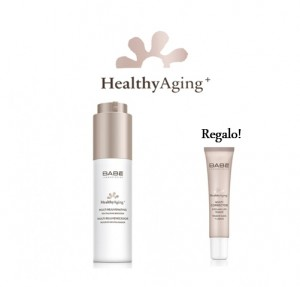 Pack Healthy Aging+ Multi Rejuvenecedor Booster Revitalizador, 50 ml + Multi Corrector Tensor de Ojos y Labios, 15 ml. - BABE