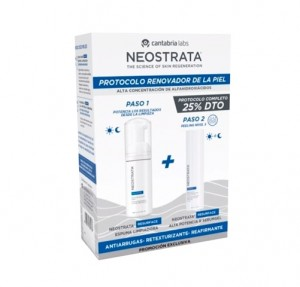 Pack Resurface Espuma Limpiadora 125 ml + Resurface Alta Potencia R Serum gel, 50 ml. - Neostrata