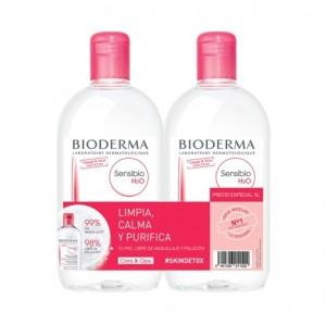 Pack Sensibio H2O, 500 ml. + Sensibio H2O, 500 ml. - Bioderma