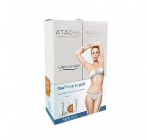 Pack Tratamiento Reafirmante, Sérum Anticelulítico 200 ml y Crema Hidratante Corporal 200 ml. - Atache