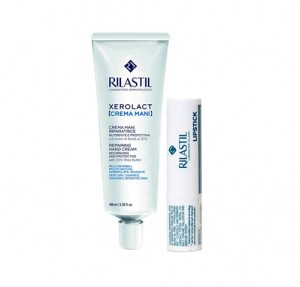 Pack Xerolact Crema de Manos, 30 ml. + Rilastil Stick Labios, 4.8 g. - Rilastil