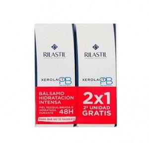 Pack  Xerolact PB Bálsamo, 200 ml + Xerolact PB Bálsamo, 200 ml de Regalo. - Rilastil