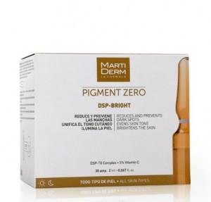 Pigment Zero DSP Bright, 30 Ampollas x 2 ml. - Martiderm