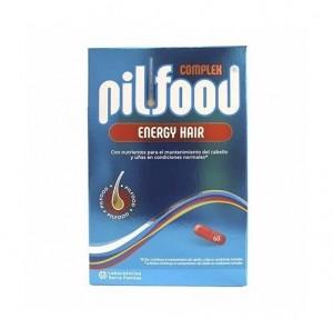 Pilfood Complex Energy Hair, 60 comprimidos. - Serra Pamies