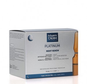 Platinum Night Renew ,30 Amp. - Martiderm