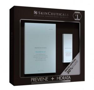 Promo Phloretin CF Serum Antioxidante, 30 ml. + Hydrating B5 Fluido Potenciador de la Hidratación, 30 ml. con 30% de DESCUENTO! -Skinceuticals