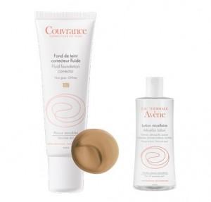 Promo Maquillaje Fluido Corrector 04 Miel, 30 ml. + Loción Micelar, 20 ml. - Avene