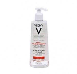 Pureté Thermale Solucion Micelar Calmante 3 en 1, 400 ml. - Vichy