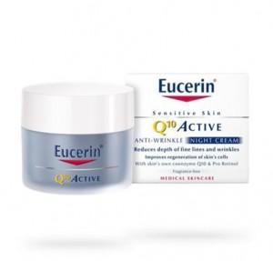 Q10 ACTIVE Crema Noche Antiarrugas, 50 ml. - Eucerin