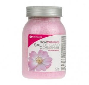 Sal de Baño Rosa Mosqueta, 700 g. - Flor de Mayo
