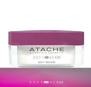 Soft-Derm Crema Facial Calmante de Noche, 50 ml. - Atache