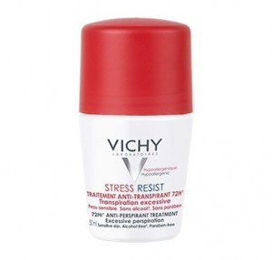 Desodorante Stress Resist. Tratamiento intensivo anti-transpirante 72h. Roll-on, 50 ml.- Vichy
