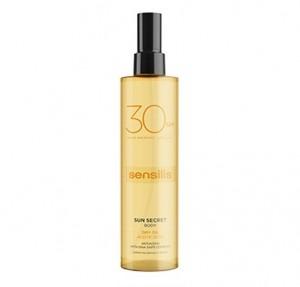 Sun Secret Aceite Corporal Protector SPF30, 200 ml. - Sensilis