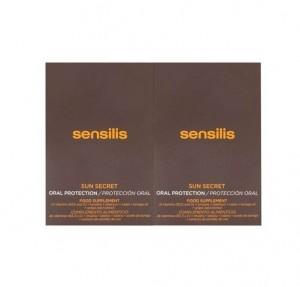 Sun Secret Duplo Protección Oral, 30 capsulas + 30 Capsulas. - Sensilis