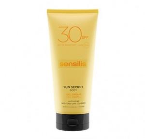 Sun Secret Gel Crema Solar Corporal SPF30, 200 ml. - Sensilis