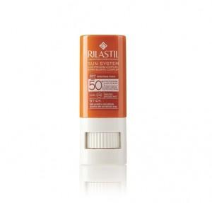 Sun System Stick Water Resistant SPF 50+, 8,5 gr. - Rilastil