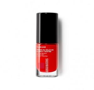 Toleriane Silicium Laca de Uñas, Color 22 Rouge Co. - La Roche Posay