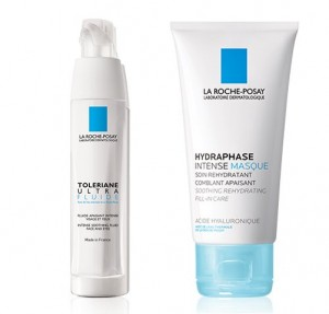 Toleriane Ultra Fluido, 40 ml. + Hydraphese Intense Masque, 50 ml. - La Roche Posay