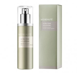 Ultra Pure Solutions Pearl & Gold Facial Nano Spray, 75 ml. - M2 Beaute