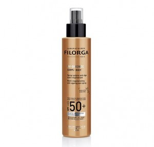 UV-Bronze Body SPF50+  Spray Solar Antiedad Nutri-Regenerante, 150 ml. - Filorga