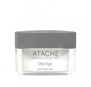 Vital Age Crema Antiarrugas Noche, 50 ml. - Atache