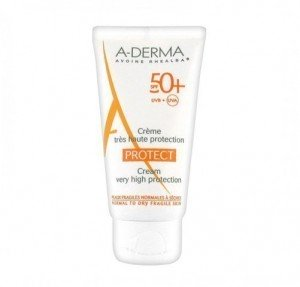Aderma Protect Crema Solar SPF50, 40 ml. - A-Derma