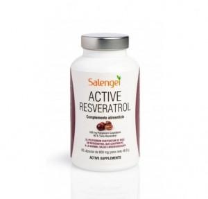 Active Resveratrol, 60 cápsulas. - Salengei