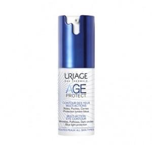 Age Protect Contorno de Ojos Multiacción, 15 ml. - Uriage
