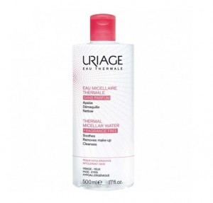 Agua Micelar Termal Pieles Intolerantes, 500 ml. - Uriage