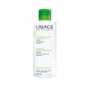 Agua Micelar Termal Pieles MIxtas-Grasas, 500 ml. - Uriage