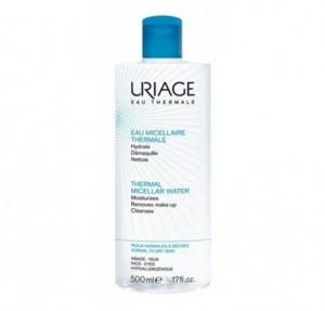 Agua Micelar Termal Pieles Normales Y Secas, 500 ml. - Uriage