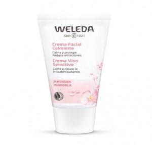 Almendra Crema Facial Calmante, 30 ml. - Weleda