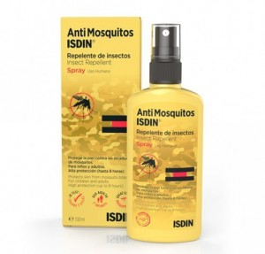 AntiMosquitos Repelente de Insectos Spray, 100 ml. - Isdin